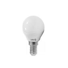 Lâmpada LED Mini Globo Luz Amarela 3W Brilia Bivolt