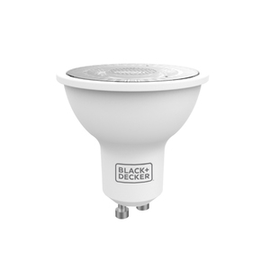 Lâmpada LED Dicróica Luz Amarela 4,5W Black&Decker Bivolt