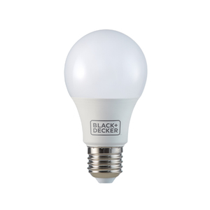 Lâmpada LED Bulbo Luz Amarela 9,8W Black&Decker Bivolt