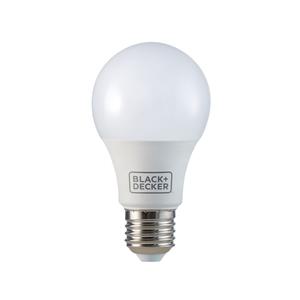 l mpada led bulbo luz branca 9 8w black decker bivolt
