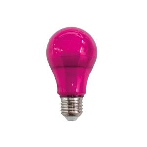 Lâmpada LED Bulbo Luz Rosa 10W Luminatti Bivolt
