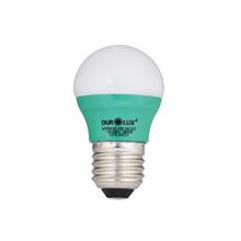 Lâmpada LED Bolinha Luz Verde 3W Ourolux Bivolt