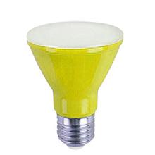 Lâmpada LED Ourolux PAR20 6W Amarelo Bivolt