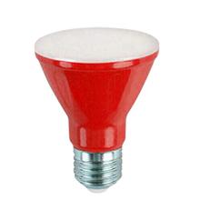 Lâmpada LED Ourolux PAR20 6W Vermelho Bivolt