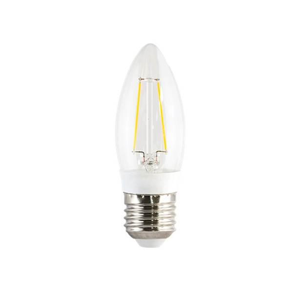 L mpada led de filamento vela luz branca 3w ourolux bivolt for Led sottopensile leroy merlin