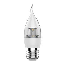 Lâmpada LED Vela Chama Luz Amarela 3,5W Osram