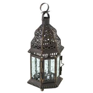 Lanterna Dalal Alumínio 12cm Ouro CJA