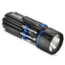Lanterna de Mão 45Lumens e Chave de Fenda LED Preto Elgin
