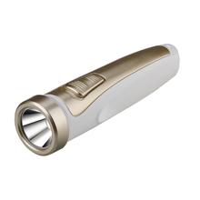 Lanterna de Mão 80Lumens LED Branco com Dourado NSBAO
