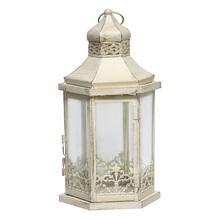Lanterna Decorativa Avanti Branca 34cm