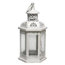 Lanterna Decorativa Flupy Branca 25cm