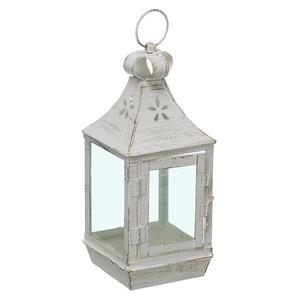 Lanterna Hind Alumínio 11cm Branco Velho CJA