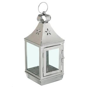 Lanterna Hind Alumínio 11cm Prata CJA
