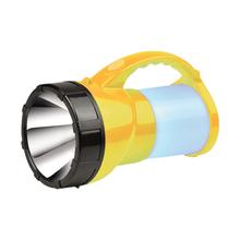 Lanterna Holofote Portátil com Lampião de Mão LED Amarelo com Preto NSBAO