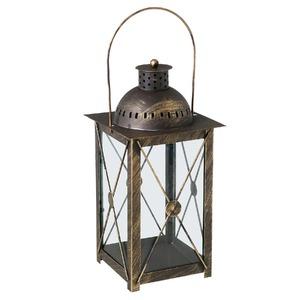 Lanterna Johara Alumínio 15cm Ouro CJA