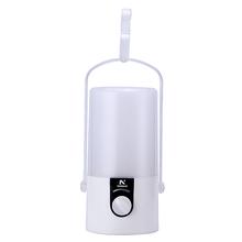 Lanterna Lampião com Gancho 89Lumens LED Branco com Preto NSBAO