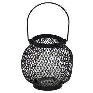 Lanterna Onix 14X14X13,5cm Preta Importado