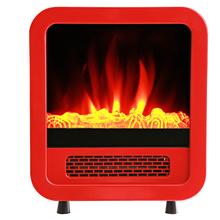 Lareira Elétrica 320x180mm Vermelho 127V (110V) Evol