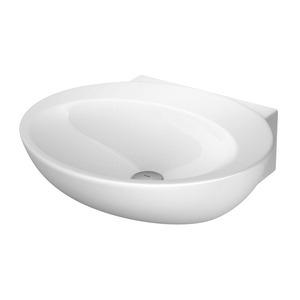 Lavatório Oval Branco 13,5x50x42,5cm Spot Deca