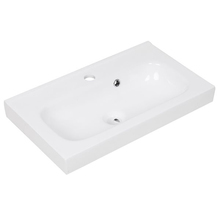 Lavatório Remix 14x61x35cm Branco Sensea