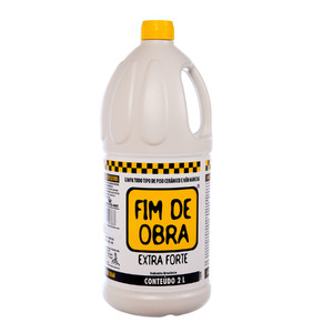 Limpa Piso Cerâmicos Extra Forte 2000ml Fim de Obra