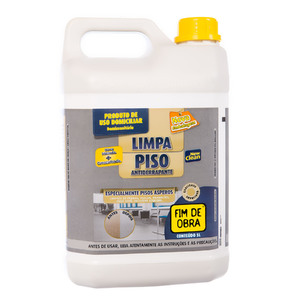 Limpa Pisos Anti Derrapante 5000ml Fim de Obra