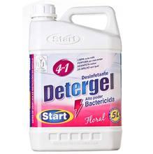 Limpador e Desinfetante Detergel  Embalagem de plástico com alça 5 L