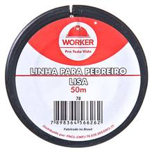 LINHA P/ PEDREIRO LISA 50M