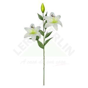 Lirio X3 Branco 90cm Florarte