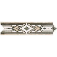 Listelo Flecha Cerâmica GLD2011 8,5x33 cm Gabriella
