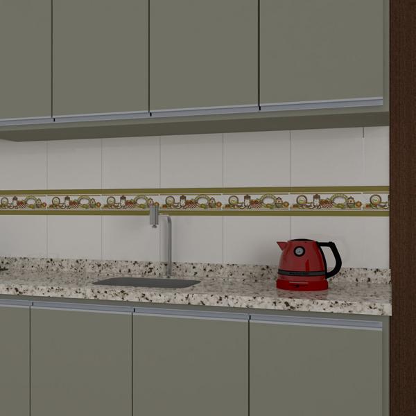 Faixa decorativa flecha cer mica gld2274 8 5x33cm for Listelos de ceramica
