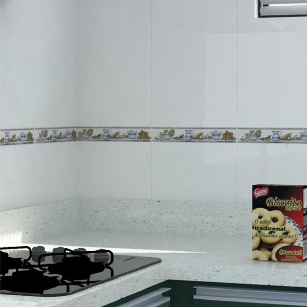 Faixa decorativa flecha cer mica gld6014 5x26cm gabriella for Ceramica decorativa pared