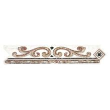 Listelo Flecha Cerâmica GLD6022 5x26 cm Gabriella