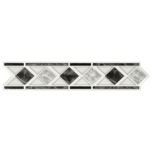 Listelo Flecha Cerâmica GLD6250 5x26 cm Gabriella