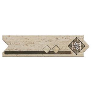 Faixa Decorativa Flecha Cer Mica Hdl2488 8 5x33cm