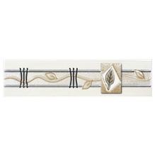 Listelo Retangular Cerâmica GLR1024 8,5x35 cm Gabriella