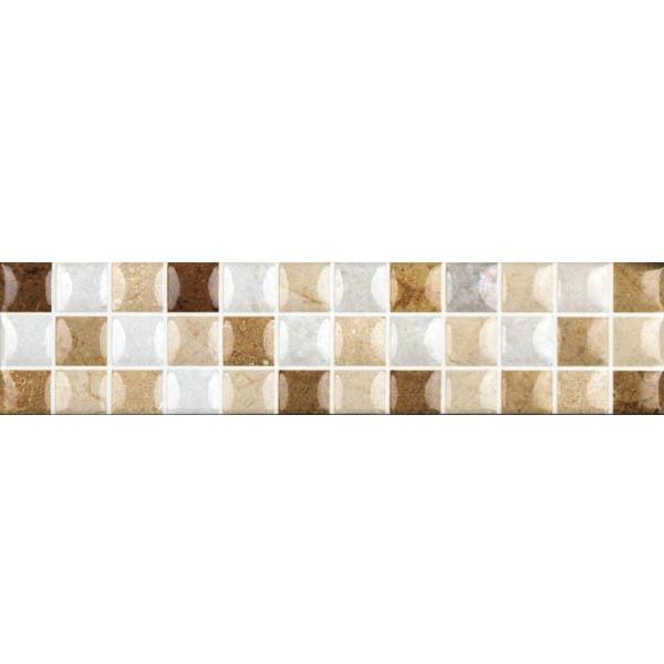 Faixa decorativa retangular cer mica hdlr 11003 35x8 5cm - Ceramica leroy merlin ...