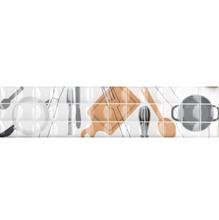 Listelo Retangular Cerâmica HDLR 11006 35x8,5cm Gabriela