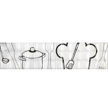 Listelo Retangular Cerâmica HDLR 11007 35x8,5cm Gabriela