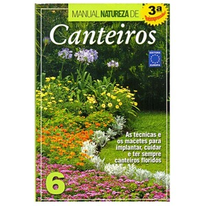 Livro Manual Natureza de Canteiros