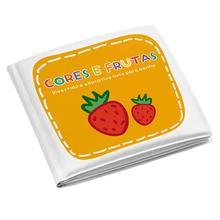 Livro Educativo para Banho Infantil Frutas MultiKids Baby