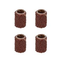Lixa Cilindro 6,4x12,7mm Grão 80 com 4 Peças Vonder
