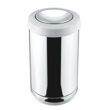Lixeira Basculante Multiuso Aço Inox 20L Viel