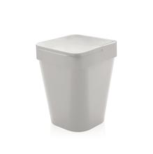 Lixeira De Banheiro 5L Plástico Branca