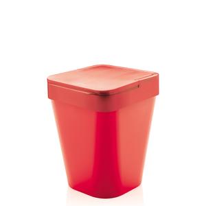 Lixeira De Banheiro 5L Plástico Vermelha
