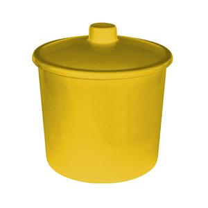 Lixeira de Banheiro 6L Amarela