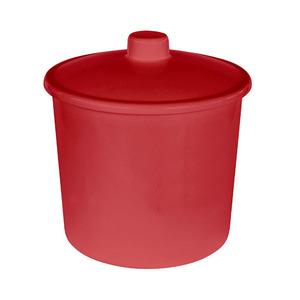 Lixeira de Banheiro 6L Vermelha