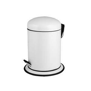 Lixeira de Banheiro Chão 3 Branca Importado