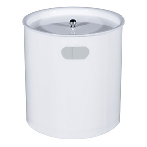 Lixeira de Banheiro Chão 3L Acrílico Perolada 787PE Formacril