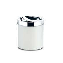 Lixeira de Banheiro Chão 5,4L Plástico Branca 3401/202 Brinox